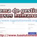 sistema de control de personal en php y mysql