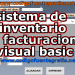 sistema de inventario y facturacion visual basic