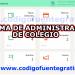 sistema de control escolar en php y mysql gratis