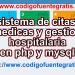 sistema de citas medicas en php y mysql