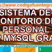 sistema de control de empleados en php y mysql